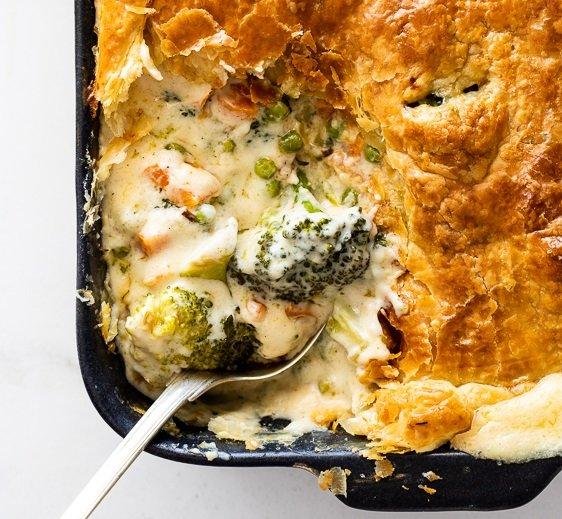 Broccoli Blue Cheese Pie