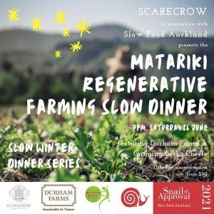 Matariki Slow Farming Dinner