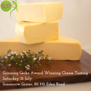 Grinning Gecko Cheese
