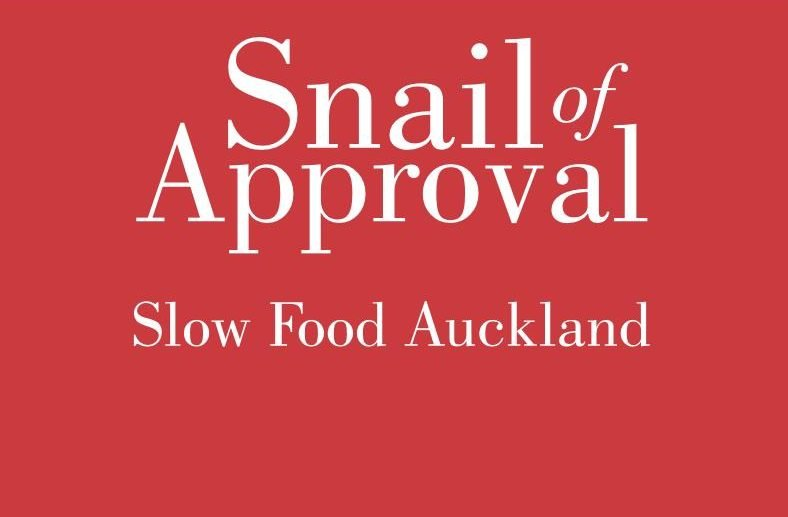 Snail of Approval Slow Food Auckland awards